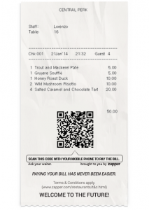 Zapper and ICRTouch tie to provide customers with secure way to pay and drive revenue for restaurants