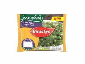Birds Eye launches Steamfresh range of steamed vegetable, rice and pasta side dishes