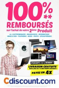 French e-commerce retailer, Cdiscount, offers students 'back to school' savings