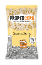 Propercorn scoops Great Taste Awards for Sweet & Salty and Sweet Coconut & Vanilla flavours