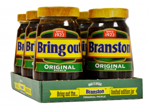 Branston tray and product