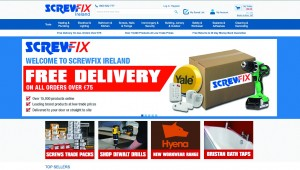 Screwfix launches dedicated website for customers in Ireland