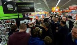 Sales volumes for Black Friday week – 25 November to 2 December – up 7.1% on 2018, Barclaycard reports
