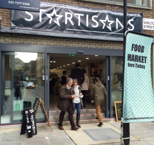 Partridges and Shepherds Markets launch new London foodie store, Startisans