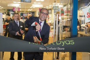 Paphitis cuts ribbon on new Enfield store