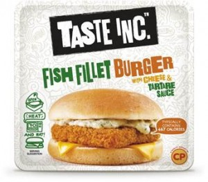 Microwaveable snacking brand, Taste Inc., launches Fish Fillet Burger in Morrisons stores