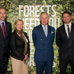 Prince of Wales encourages UK business leaders to tackle forest destruction