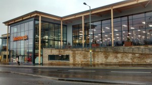 Sainsbury's new Sheffield store is built on stilts to maximise space