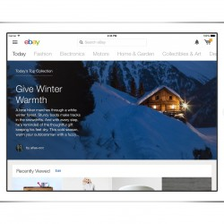 eBay aims to ease Christmas shopping with launch of new iPad app