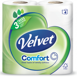 New Velvet Tissue site affirms brand's commitment to trees