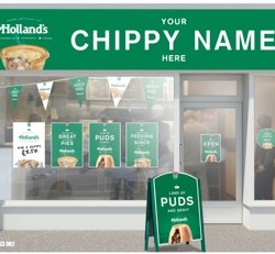 Holland's to give 11 North West chippies a makeover