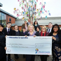 St Giles Walsall Hospice purchases new equipment using donation from Midcounties Co-operative