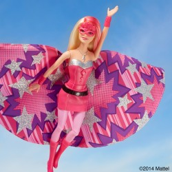 "Barbie makes superhero debut with ""Barbie in Princess Power"" at Nuremberg Toy Fair"