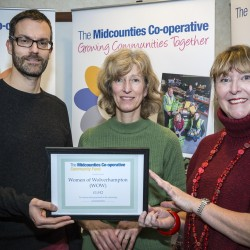 The Midcounties Co-operative donates over £16,000 to West Midlands community groups