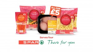 Spar brand stir fry offer features in new advertising campaign