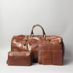 British leather goods company, Maxwell Scott Bags, relaunches website following rebrand