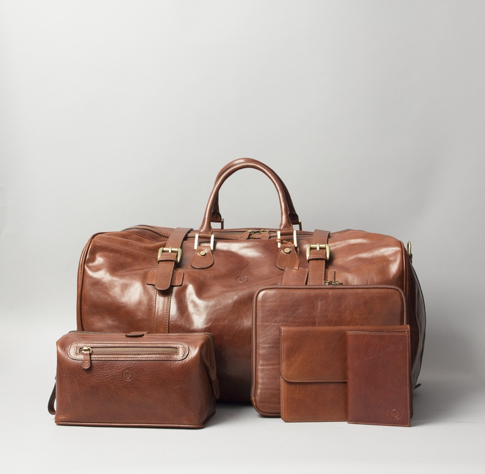 luggage and leather goods retailing in Unrivaled leather handmade & personalized briefcase & travel bags, belts,  phone & tablet cases, bracelets, pocket knives & dog collars made in the usa.
