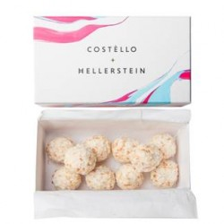 Luxury chocolate truffle brand, Costèllo + Hellerstein, is now available in Harrods