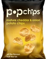 Popchips launches its first UK inspired flavour – Mature Cheddar & Onion