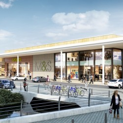Barr Construction steps up redevelopment at Elliott's Field Shopping Park, Rugby