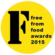Shortlist for 2015 FreeFrom Food Awards is announced