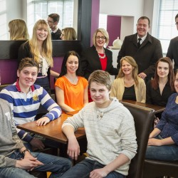 Swedish students experience work in Walsall with The Midcounties Co-operative