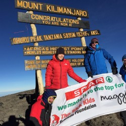 Spar Scotland climb Kilimanjaro and raise over £50,000 for charities