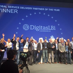DigitasLBi Commerce wins hybris Global Service Delivery Partner of the Year 2014 Award