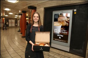 Driiving doughnut sales on London transport with OOH advertising