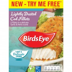 Birds Eye expands portfolio with Lightly Dusted Cod Fillets and new Steamfresh variants