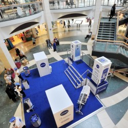 Nivea hosts experiential promotion at Bluewater to showcase In-Shower Body Moisturiser
