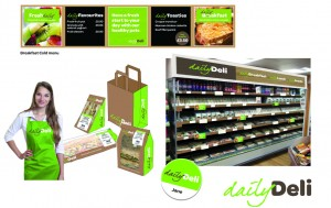 New Daily Deli foodservice offer