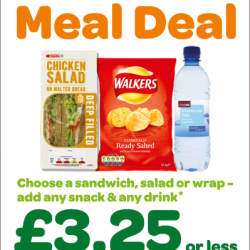 Spar wholesaler James Hall revamps lunchtime range, launches new meal deal and adds sushi to offer