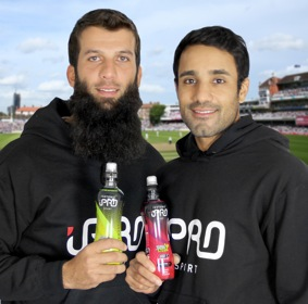 Ali and Bopara back sports drink