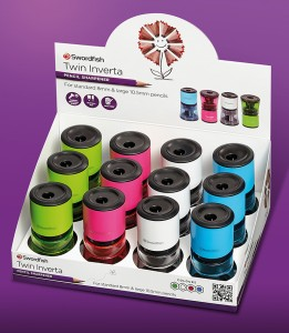 New look pencil sharpeners