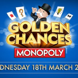 McDonald's Monopoly celebrates returning for the tenth year, with the Golden Chances campaign
