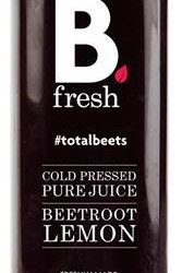 Vegetable based juice brand, B.Fresh, extends range of cold pressed drinks