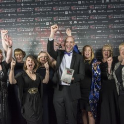 Freeport Fleetwood is named Retail Business of the Year in Red Rose Awards