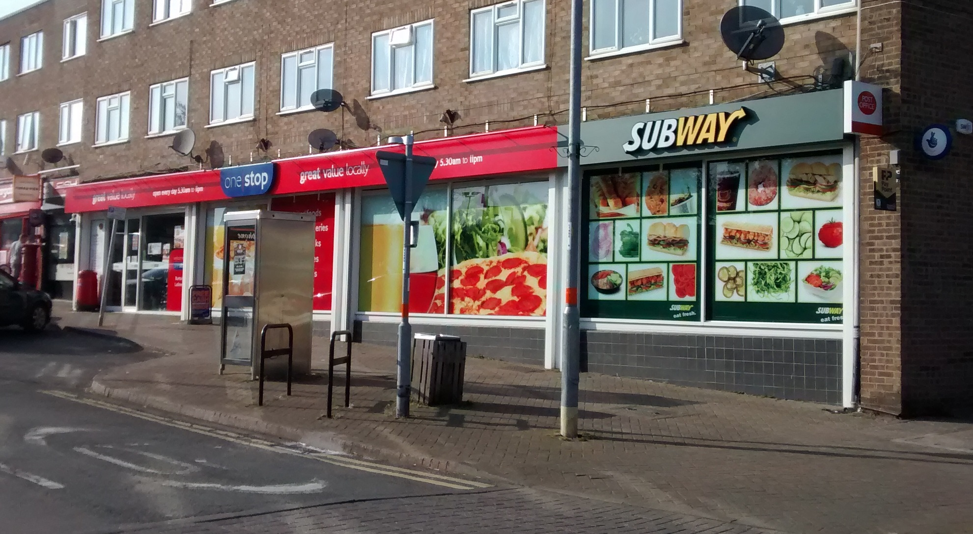 Subway - Burton Latimer external