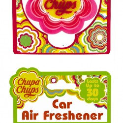 151 Products secures licence with confectionery brand, Chupa Chups, for car air fresheners