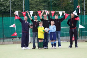 Blakemore Logistics volunteers organised a Junior Football Competition at Tipton Sports Academy, West Midlands