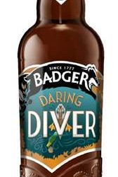 Badger Ales announces launch of Daring Diver, an easy drinking, sessionable beer, launching this May