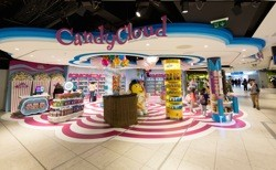 The Design Solution creates Candy Cloud store for ARI at Dublin Airport
