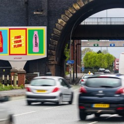 Lucozade campaign synchronises outdoor and radio advertising