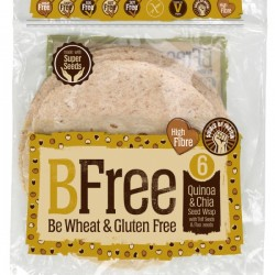 BFree launches Quinoa + Chia Seed Wraps into Tesco Ireland