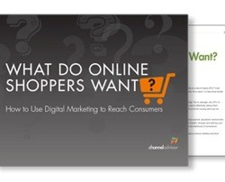 Discover what online shoppers want in exclusive ChannelAdvisor download