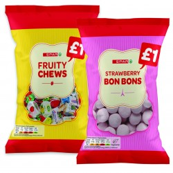 Spar updates own band sharing confectionery range