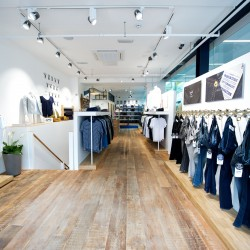 Amsterdam premium denim label, Denham, opens the brand's first store in Leeds