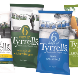 Tyrrells extends multi-pack range to gain a bigger share of the adult packed lunch market