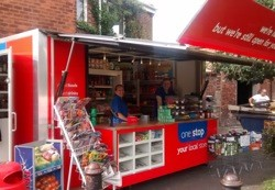 One Stop franchisee opens pop up shop during store refit